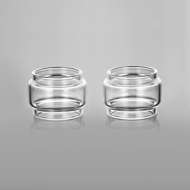 2pcs YUHETEC Replacement Fatboy Bubble Glass Tank For Vandy Vape Kensei 24 RTA /KYLIN Mini/ Berserker MTL RTA/KYLIN V2 RTA TUBE