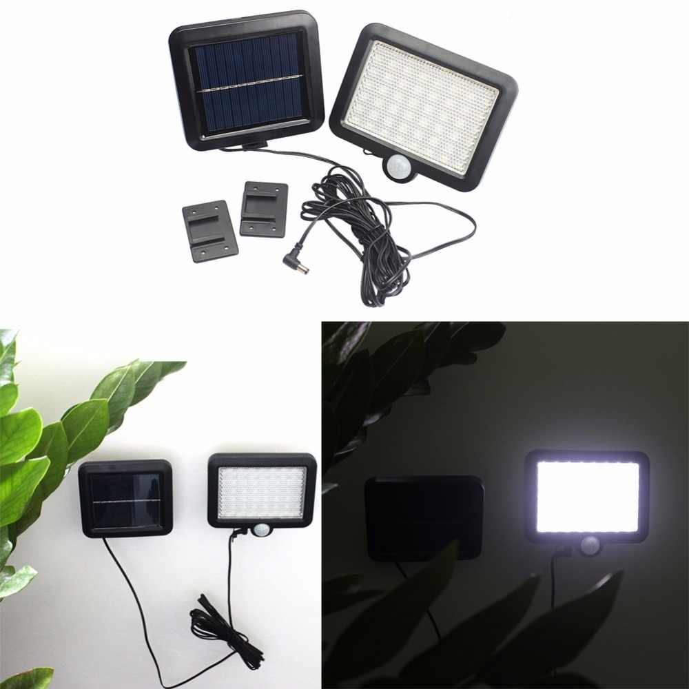 5 قطعة/الوحدة IP65 56 LED تعمل بالطاقة الشمسية في الهواء الطلق حديقة استشعار الحركة الأمن الفيضانات ضوء بقعة مصباح الأضواء الكاشفة الشمسية