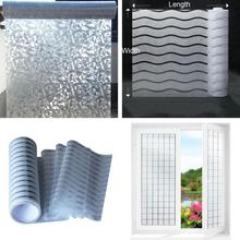 Electrostatic Glue-free Office Decorative Window Film Glass Sticker Frosted Privacy Bedroom kitchen Moving door Home Decor