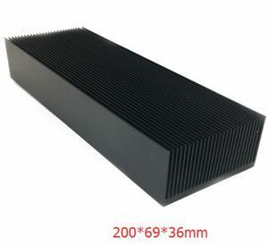 Image 5 - Hot large 알루미늄 방열판 방열판 ic led 전력 증폭기 용 라디에이터 냉각 핀