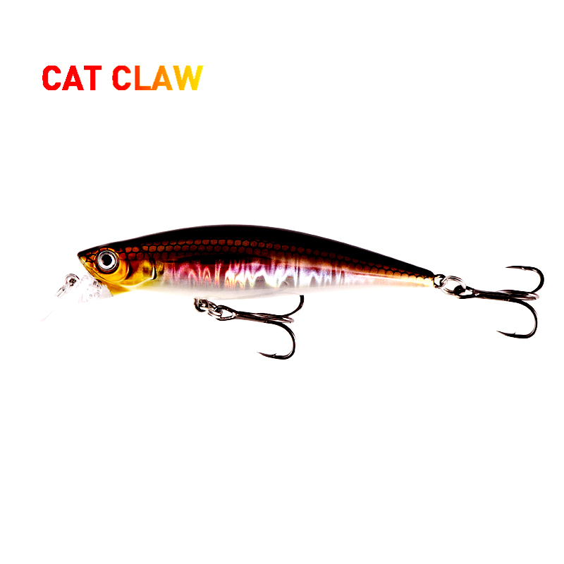 Cat Claw Lure Premium Series 303M Hard Minnow Fishing Lure Artist Minnow Freshwater Fishing Trout Lure Hard Bait 33g 100mm