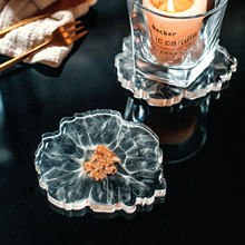 2Pcs Neoprene Car Cup Mat Flower Teacup Multiple colour Pad for Home Decor NEW