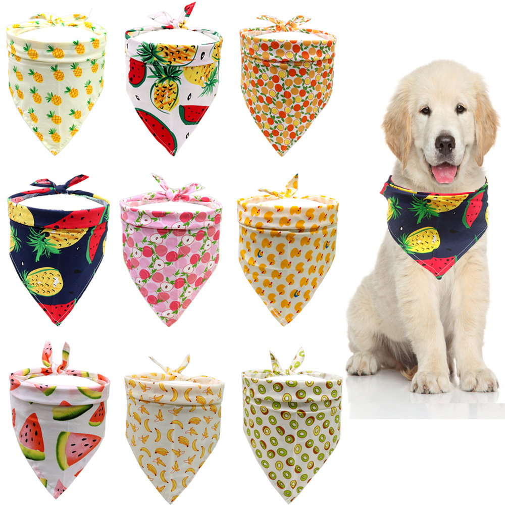 Dog Bandanas Puppy Cat Bandana Bibs