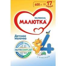 Молочная смесь Малютка 4 с 18 мес 600 гр