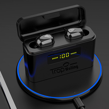 Echte Draadloze Oordopjes Tws Led Disply Bluetooth Oortelefoon 5.0 Bluetooth Active Noise Cancelling Draadloze Hoofdtelefoon Sport Headset