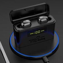 真ワイヤレスイヤフォン tws led disply bluetooth イヤホン 5.0 bluetooth ワイヤレスヘッドフォンスポーツヘッドセット