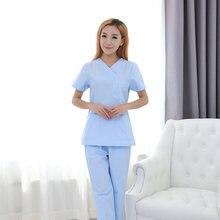 Корейская версия рабочей одежды одежда для мытья костюм медицинской