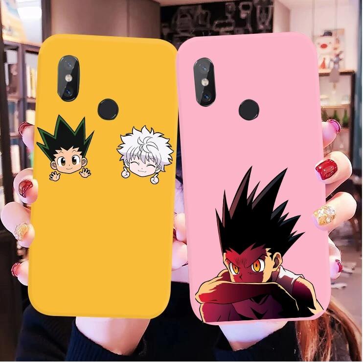 HUNTER x HUNTER HxH Gon Killua anime phone Case For huawei p30 p30 lite p20 pro mate 30 20 pro 30 lite honor 10 9 8X lite cover