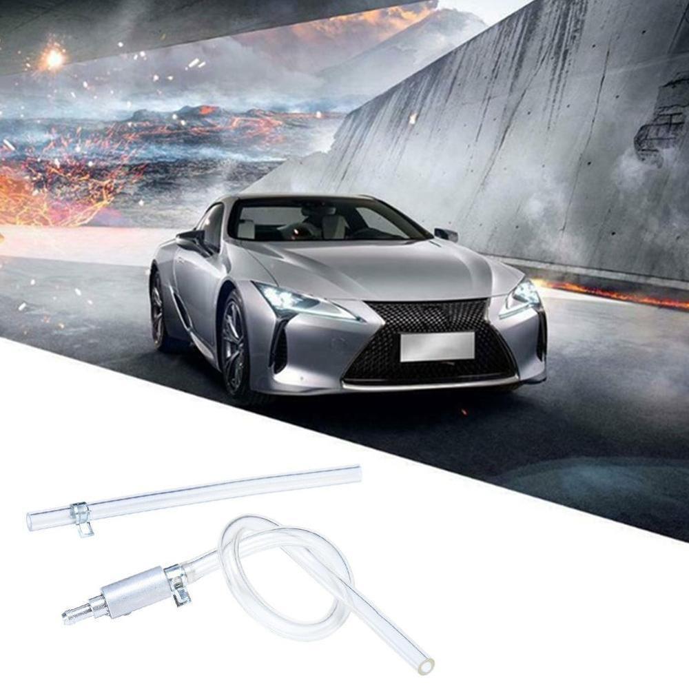 1Pc Universal Brake System Aluminium Rubber Clutch Brake Bleeder Hose Tube Bleeding Tool Motorcycle Auto Parts Car Accessories