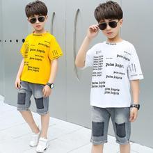 Children Clothing Summer Boys Clothes 2pcs Outfits Kids Clot