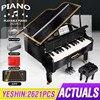 Приложение для программирования Дистанционное Управление высокотехнологичных 21323 Playble Grand набор для фортепиано конструкторных блоков, Дет...