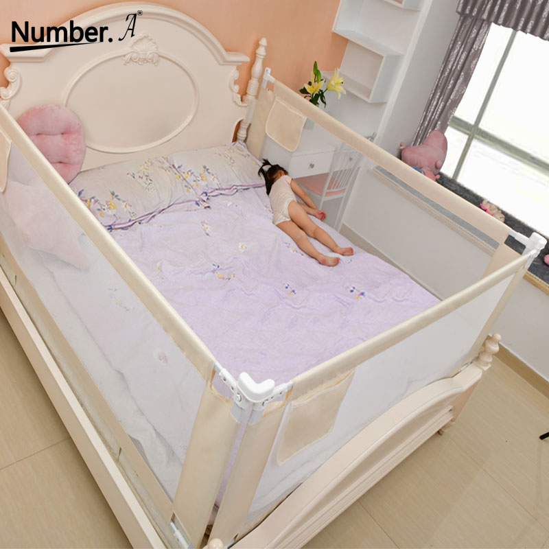 Children's Playpen Bed Fence Child Safety Barrier Railing For Kids Fenced Railing Bed Sides Safety Gates For Baby Fenced Barrier