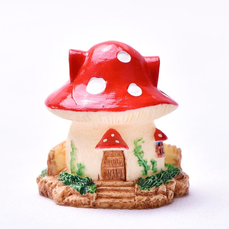 Mini Ceramic China Building Pagoda Dollhouse Miniature Decor Tiny Garden Bonsai