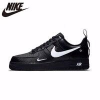 NIKE Оригинальный Air Force 1 Для женщин Скейтбординг обувь удобные Поддержка спортивные кроссовки для Для женщин # AJ7747