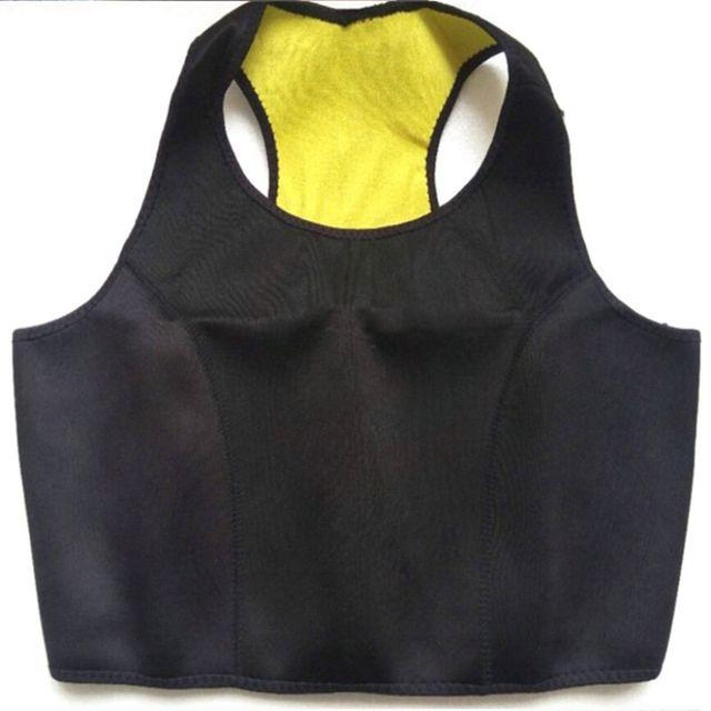 Women Slimming Vest Neoprene Shaper Sports Suit Pants Belt Half Vest Sweat-burning Fat-sculpting Body Shaper Yoga Corset 1