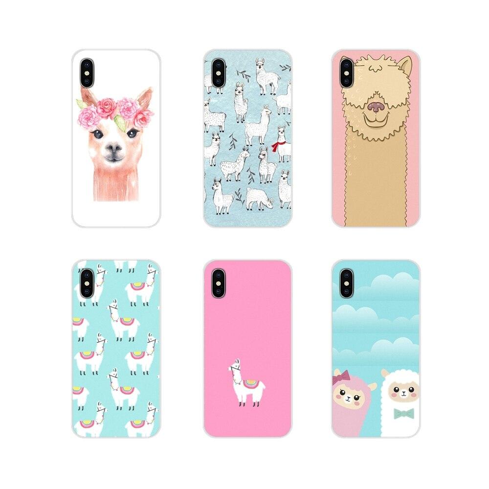 Accessories Phone Cases Covers Llama Alpaca Animals For Huawei Mate Honor 4C 5C 5X 6X 7 7A 7C 8 9 10 8C 8X 20 Lite Pro