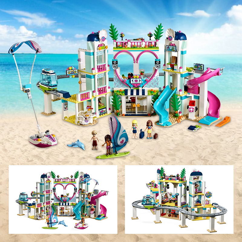 Friends Series Heartlake City Resort Building Blocks Bricks Compatible lepinglys 41347 Toys Children Girls Educational Gifts