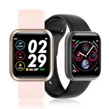 Фитнес браслет F11 с монитором кровяного давления и пульса, водонепроницаемые смарт браслеты Relogio с сенсорным экраном, мужские и женские часы
