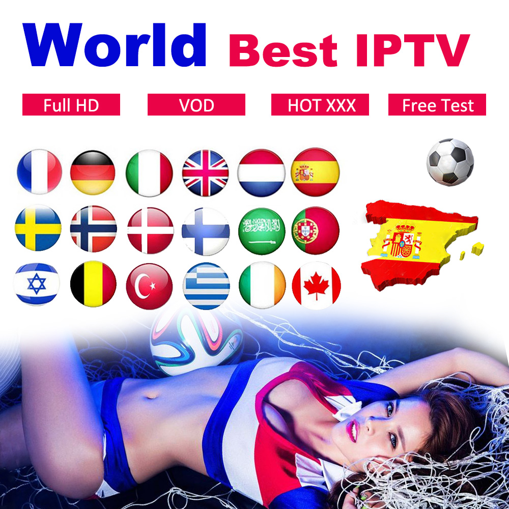 Stable World IPTV Subscription HD Live&Vod Hot Club Xxx Iptv Code For Smart TV M3U Europe Poland Dutch Spain Germany Arabic Iptv