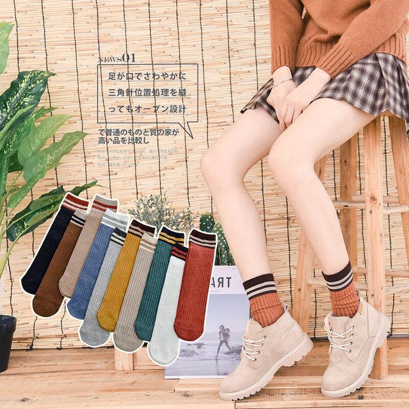 1 Pair/set Women's Loose Socks Cotton Lady Socks Factory Wholesale Girls Female Socks Women Cotton Kawaii Cute Lovely