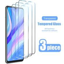 3 pçs vidro temperado para huawei p smart 2019 p z s 2021 protetor de tela de vidro para huawei p30 lite p40 pro p20 lite vidro