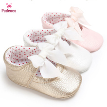 Pudcoco Brand Kids Baby Shoes Girl Leath