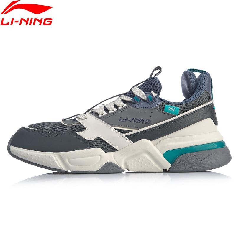 Image 3 - Li Ning Men 001 R 1 Classic Leisure Lifestyle Shoes Hit Color  Retro Dad Shoes LiNing li ning Sport Sneakers AGCP061 YXB308Walking  Shoes