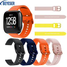 22mm Fashion Accessories Strap Replacement For Fitbit Versa/Versa 2 Silicone Smart Sport Watch Band Wrist Watch Strap Bracelet colorful silicone replacement sport wristband watch band strap for fitbit versa band smart bracelet wrist strap s l size