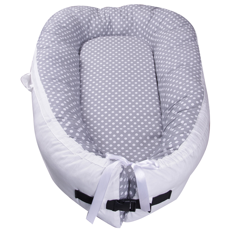 80*50*10cm Baby Nest Bed Portable Crib Travel Bed Infant Toddler Cotton Cradle For Newborn Baby Bassinet Bumper Baby Nest