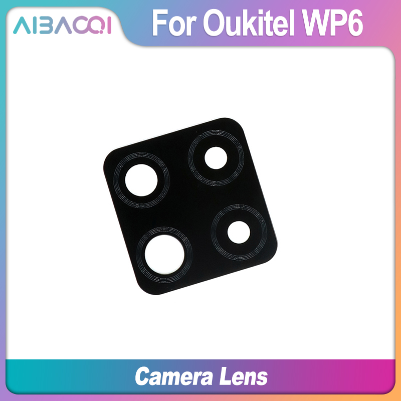 Aibaoqi camara lente protetor de pantalla camara lente protetora transparente para oukitel wp6 telefone