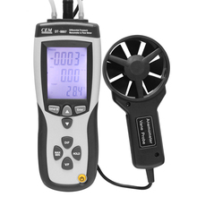 CEM Multipurpose Anemometer Digital Anemometer LCD Wind Speed Temperature Humidity Meter with Hygrometer Thermometer DT-8897