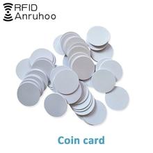 5/10PCS RFID Smart Chip Tag 125KHZ PVC Badge EM4305 T5577 Rewritable Key 25MM Changeable Proximity Token Coin Card