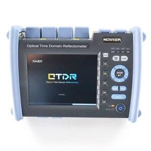 Image 2 - NOVKER NK6000 1310/1550/1625nm 38/35/35dB Multifunction Optic Fiber 1625 PON OTDR Tester With VFL OPM Light Source