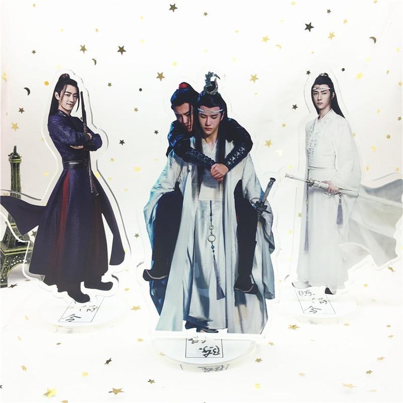 Grandmaster Of Demonic Cultivation Keyring The Untamed Lan Wangji Wei Wuxian Acrylic Key Ring Mo Dao Zu Shi Keychain Llaveros