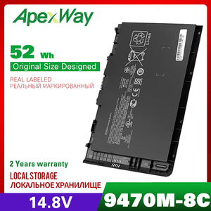 Image 1 - 14.8v laptop battery for HP EliteBook Folio 9470/9470m Ultrabook Series HSTNN DB3Z  BT04XL BA06  IB3Z I10C BT04