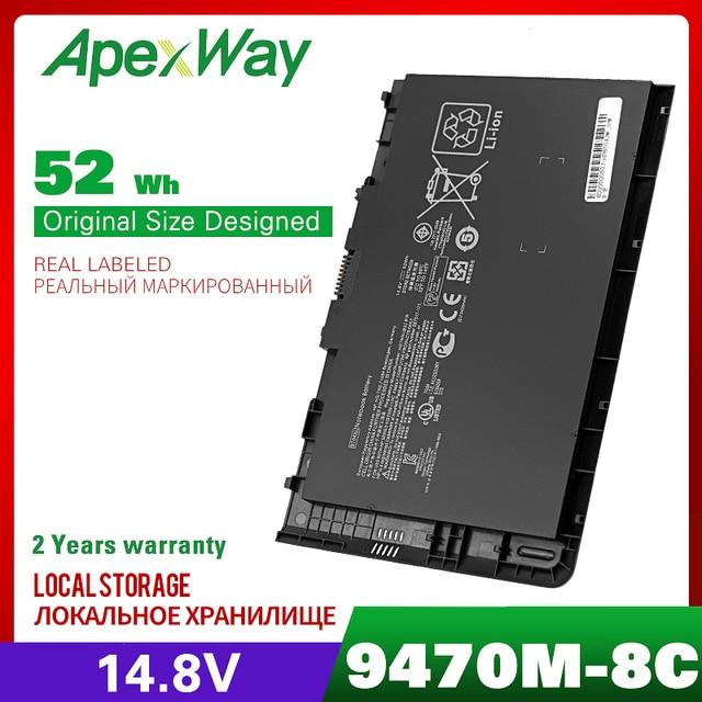 14.8v laptop battery for HP EliteBook Folio 9470/9470m Ultrabook Series HSTNN DB3Z  BT04XL BA06  IB3Z I10C BT04