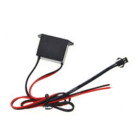 El draht adapter 12V Drive Controller inverter Für 1 5M Neon Licht LED Streifen Licht EL Draht glow Flexible Neon Decor-in Lichttransformatoren aus Licht & Beleuchtung bei