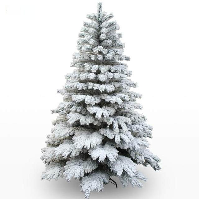 1-8m-180cm-2-1m-210cm-Christmas-Tree-Snow-White-big-Christmas-Tree-Large-Size-Navidad