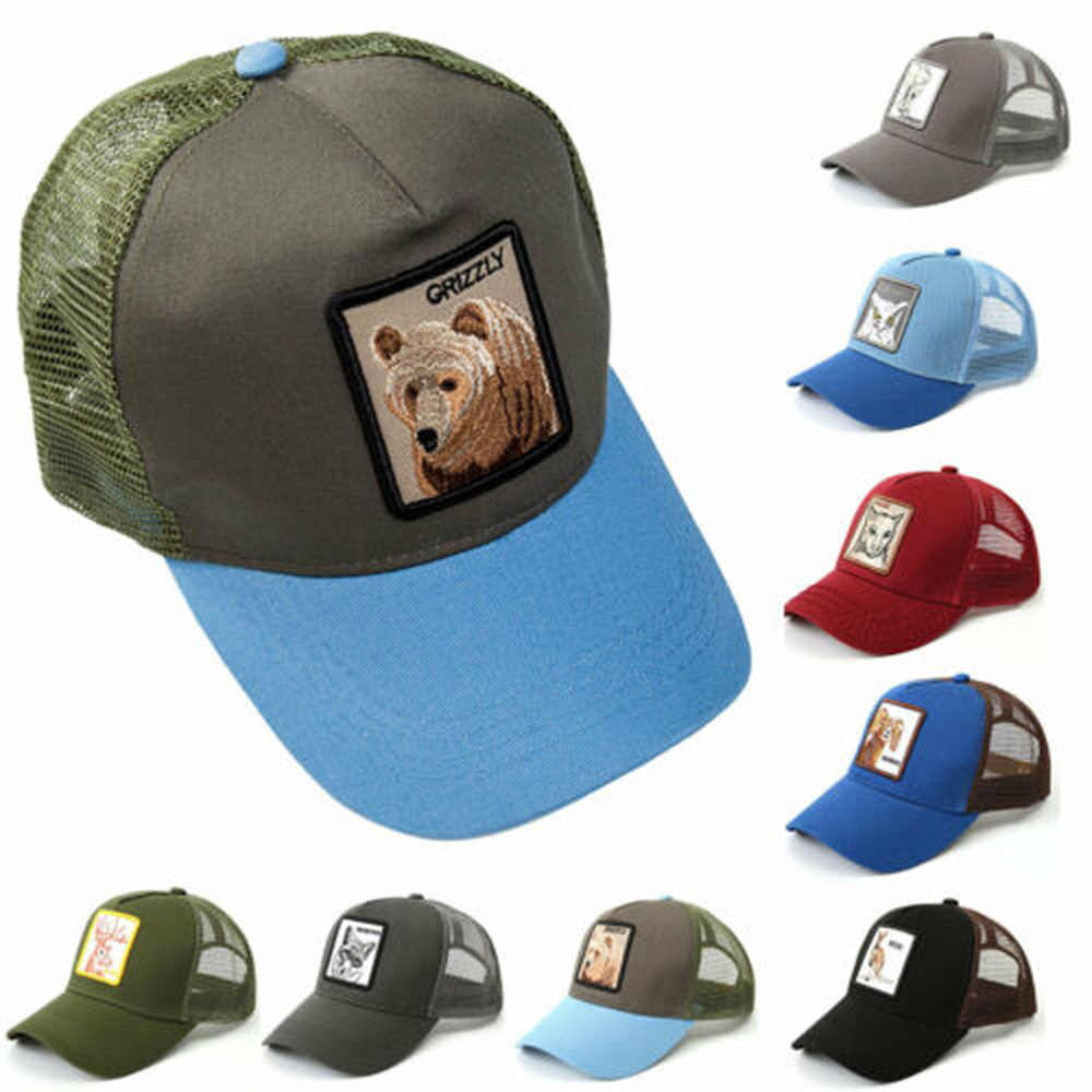Baseball     Cap   Men arrival Hip Hop   Cap   Women Classic   Baseball     Cap   Dad Hat Embroidery Animal Summer Breathable Mesh Adjustable Size