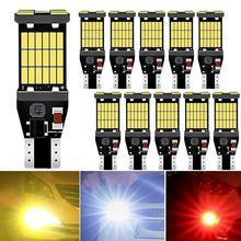 цена на 10Pcs T15  T16 LED W16W Canbus Bulbs No Error Car Reverse Backup Light For Kia Rio 2 3 K2 K3 Armrest Optima Ceed Sorento Cerato