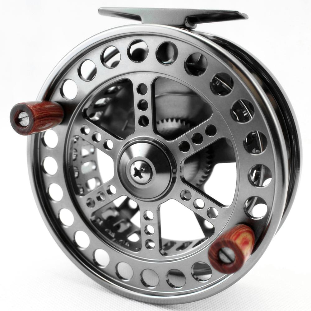 CNC MACHINED ALUMINUM CENTER PIN CENTREPIN FLOATING REEL 108MM 4 1 4 INCH STEELHEAD SALMON TROTTING