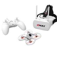 EMAX Tinyhawk FPV Racing Drone RTF F4 4-in-1 3A 15000KV 37CH 25mW 600TVL VTX 1S W/ 1PC Controller And 1PC Goggle