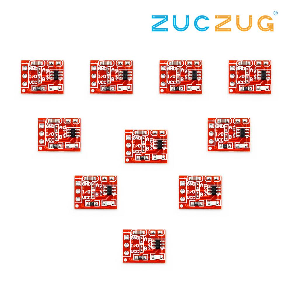 10Pcs TTP223 Key Switch Module Button Self-Locking/No-Locking Touch Switches