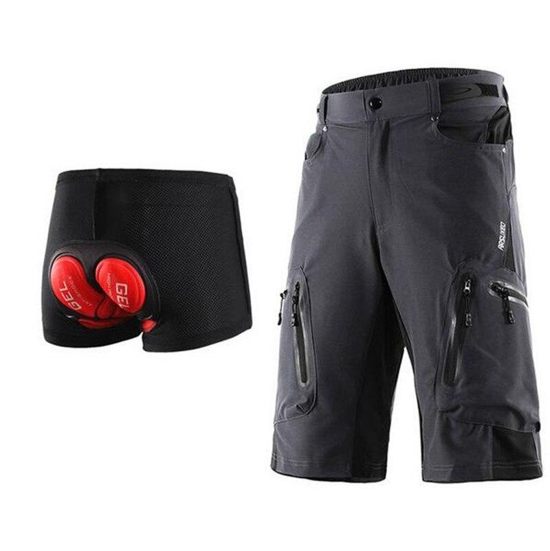 Motorcycle Shorts Cycling Shorts Summer Mountain Bike Motorbiker ShortsOutdoor Sports Riding Moto Pants With Pads