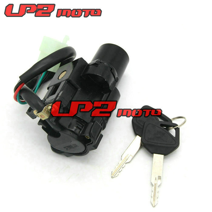 Motorcycle Motorbike Ignition Switch Key with Wire Electric Door Lock For Honda CBR1100XX 1999 2006