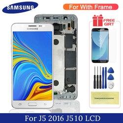 J5 2016 wyświetlacz TFT dla 5.2 ''Samsung Galaxy J5 2016 wyświetlacz LCD z ramką ekran dotykowy wymiana Digitizer dla J510 LCD