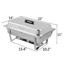 Zokop 9l * 1 три набора посуды 1*1/2 2*1/4 прямоугольная плита