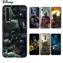 Soft Cover Baby Yoda The Mandalorian For Huawei P Smart 2021 2020 Z S Mate 40 RS 30 20 20X 10 Pro Plus Lite 2019 Phone Case