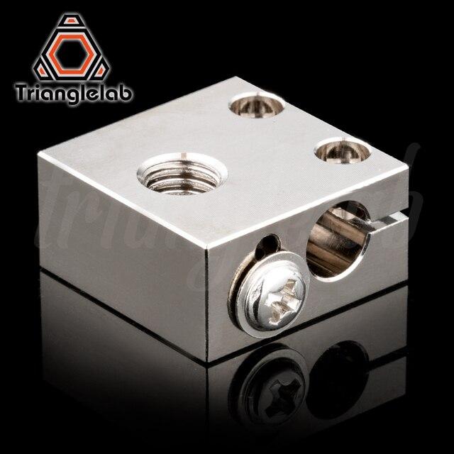 Trianglelab suisse CR10 plaqué cuivre bloc chauffant pour CR10 Hotend cr-10 Hotend pour mk8 buse BMG extrudeuse ender3 cr-10s