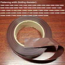 1kg 18650 lithium battery package outer skin shrink sleeve PVC heat shrinkable sleeve insulation shrink film brown 1 pair car battery terminal insulation clamp clips protection protector sleeve covers pvc 62 30 25mm black red